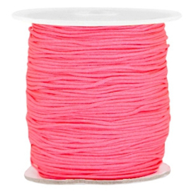 Macramé 1.0mm bright pink (neon)