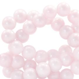 Glaskraal shine rosy 6mm