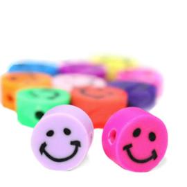 Katsuki kralen Smiley Multicolour