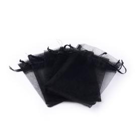 Organza cadeauzakjes zwart