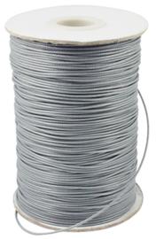 Waxkoord licht grijs 1,5mm