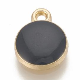 Bedel rond black goud