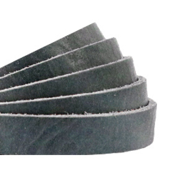 Plat 10 mm DQ leer Bluestone grey