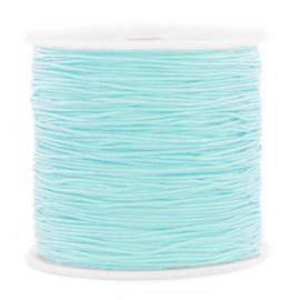 Macramé draad 0.8mm Icy morn blue