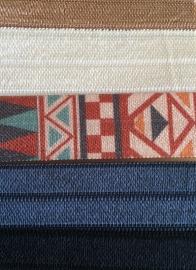 Ibiza elastiekjes - basic aztec