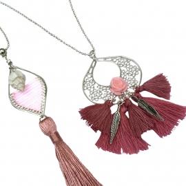 Inspiratie ketting 'chandelier'