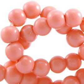 Top quality glasparel oranje opaque 6mm
