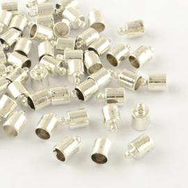 Eindkap zilver 5mm