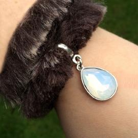 Inspiratie armband 'fur & facet'