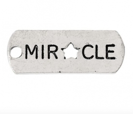 Charme miracle open stern silber