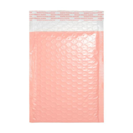 Luchtkussen envelop roze 25x15cm