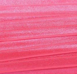 Elastiek neon pink 15mm