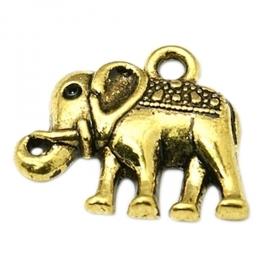Charme elephant gold (bulk)