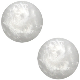 Polaris cabochon 20mm Mosso shiny Ice grey