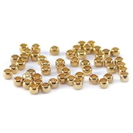 Knijpkraal goud 2mm