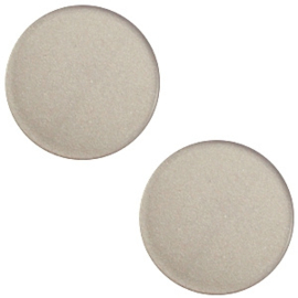 Cabochon super polaris dusty grey 12mm