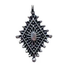 Bedel ryrhombus zilver