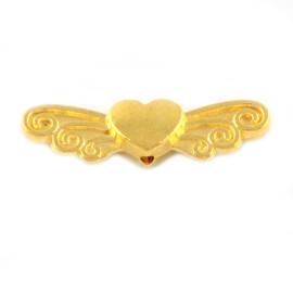 Vleugeltjes hartje goud