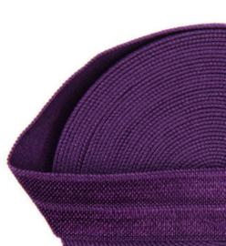 Elastiek royal purple 15mm