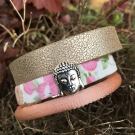 Inspiratie armband 'big buddha'