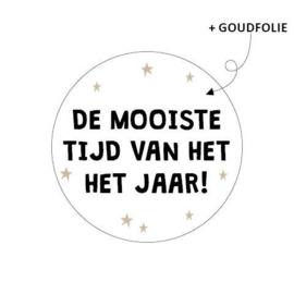 Sticker De mooiste tijd van het jaar
