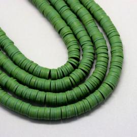 Fimo perlen groen 5mm
