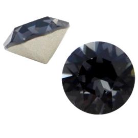 Swarovski Elements SS24 puntsteen (5.2mm) graphite grey