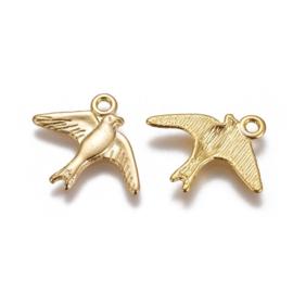 Bedel zwaluw goud