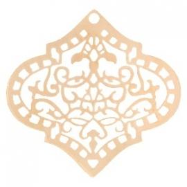 Bohemian raute rosegold
