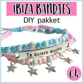 Ibiza bandjes DIY pakket