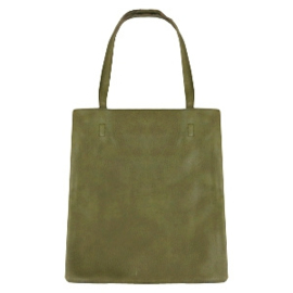 Fashion tas shopper olive green