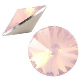 Rivoli puntsteen 12 mm Light peach opal bq