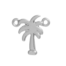 Tussenzetsel palmboom zilver