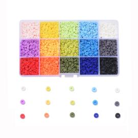 Katsuki kralen mix 4mm pakket