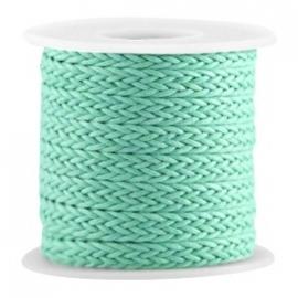 Braided wachsband turquoise grün