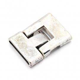 Snaplock slot zilver