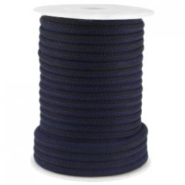 Dreamz koord 5mm zwart blauw
