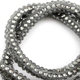 Imi suède met strass Black diamond