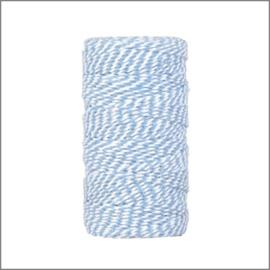 Twist koord blauw