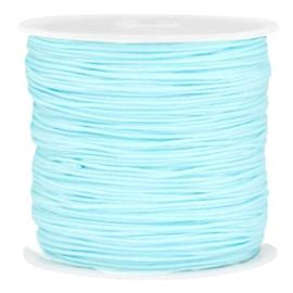 Macramé draad 0.8mm baby blue