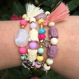 Inspiratie armbandjes 'colurful'