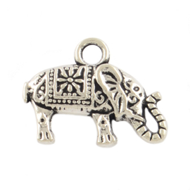 Charme bohemian elephant silber