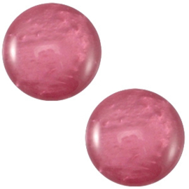 Cabochon Polaris Mosso shiny 20mm Rose wood purple
