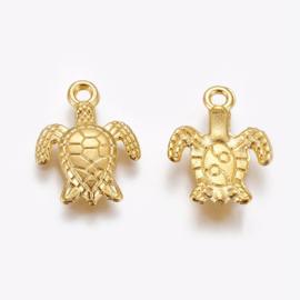 Bedel schildpad goud