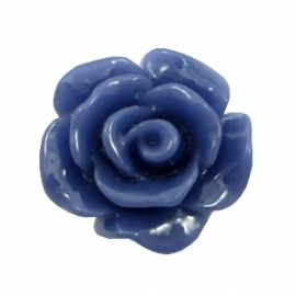 Rose 10mm navy blue