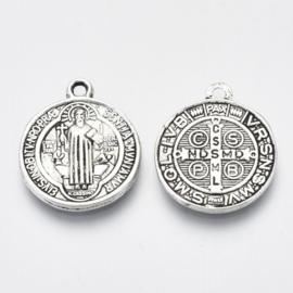 Bedel Saint Benedict zilver