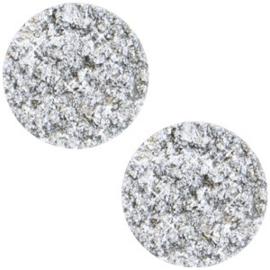 Cabochon polaris elements goldstein white 12mm
