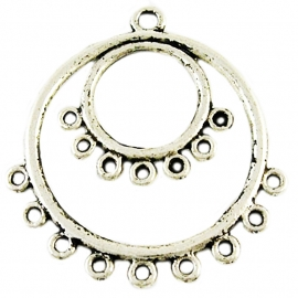 Connector hanger Auge silber