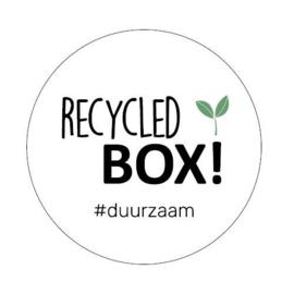 Sticker Recycled Box!