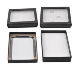 Kartonnen doosjes voor 12 ringen